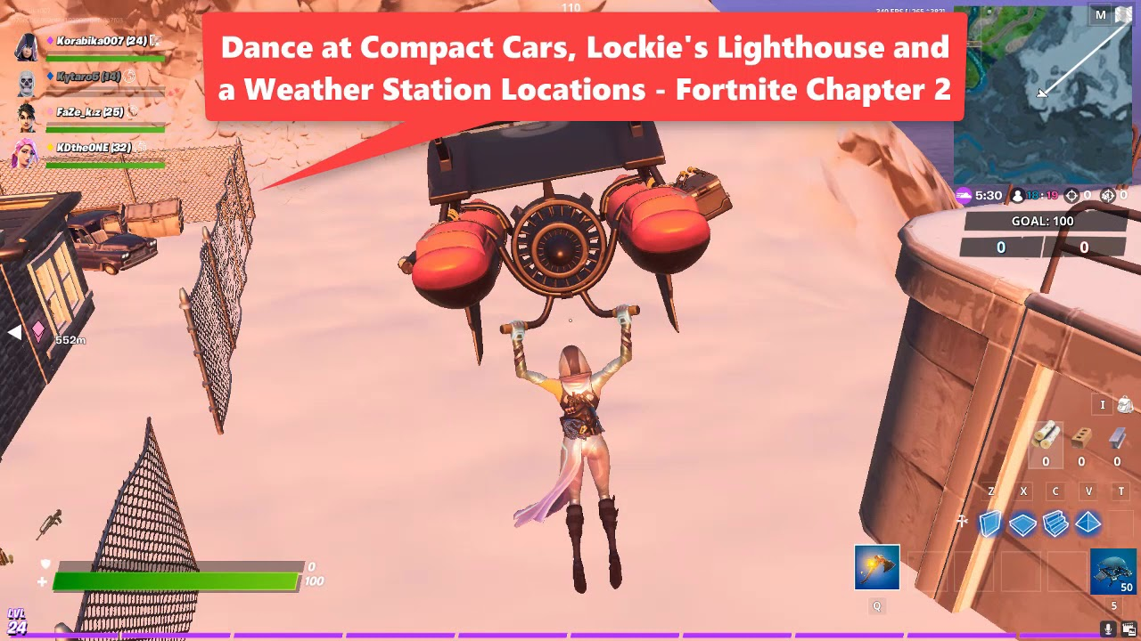 What Is A Compact Car In Fortnite Chapter 2