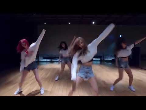 BLACKPINK & Dua Lipa - Kiss And Make Up DANCE PRACTICE VIDEO