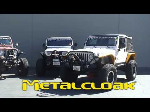 Metalcloak's Frame-Built Bumper System for Jeep Wrangler TJ/LJ/YJ and Jeep CJ
