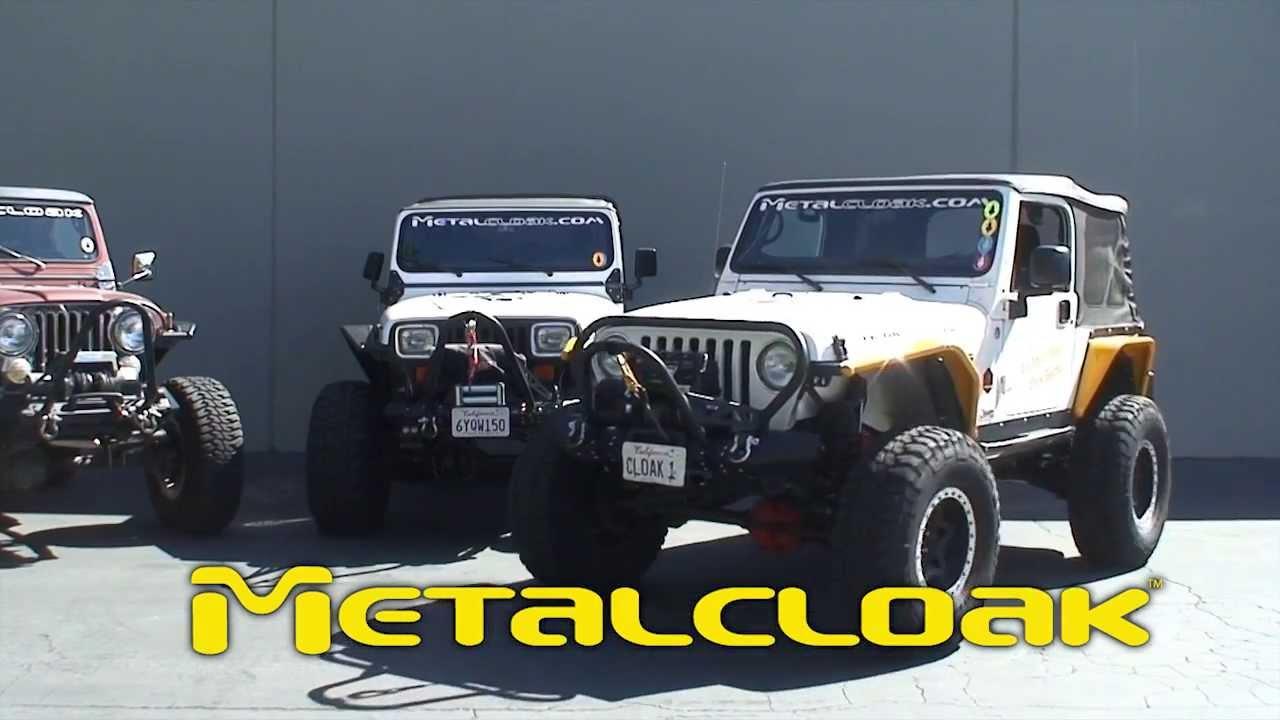 Metalcloak S Frame Built Bumper System For Jeep Wrangler