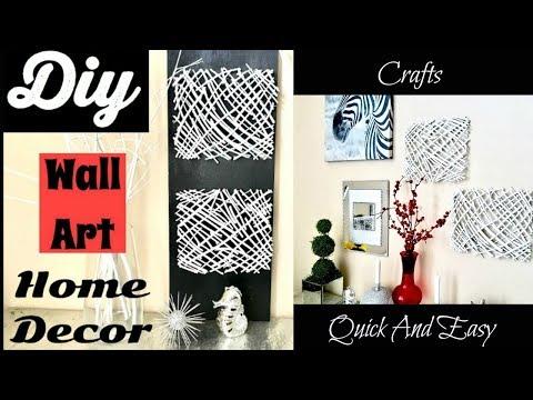 DIY Wall Art Home Decor At No Cost!!!!