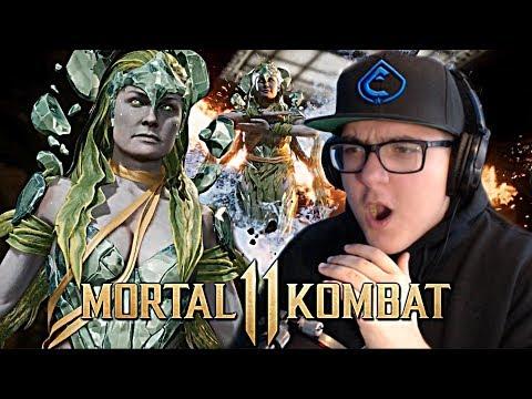 Mortal Kombat 11 - Cetrion Reveal Trailer REACTION!