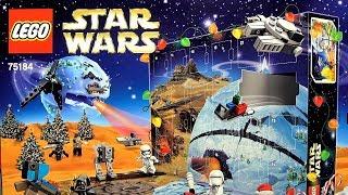 LEGO Star Wars 75184 Новогодний календарь Обзор и распаковка Лего Звёздные войны новинка