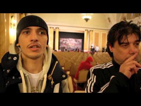 LEE SELBY & LEE SELBY SENIOR INTERVIEW FOR iFL TV @ WEIGH-IN / SELBY v MUNROE / RELOADED