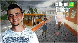 Bus Driver Simulator 2018 #1 - Od przystanku do przystanku czyli wcielam się w kierowce busa!