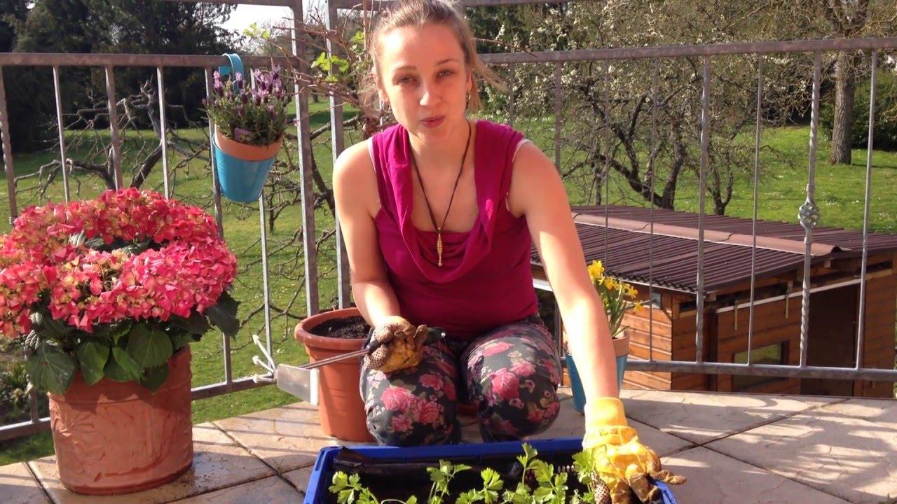 Balkon Hochbeet Diy Ganz Easy Youtube