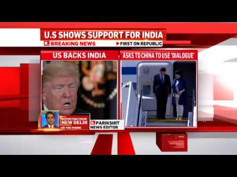 US Supports India Over China