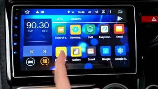 Honda Jazz 2014 2017 - Convex 9 inch Android Master OEM Player + Camera