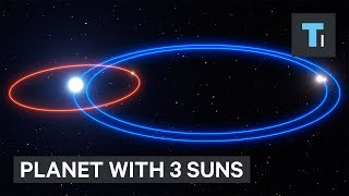 Planet with 3 suns