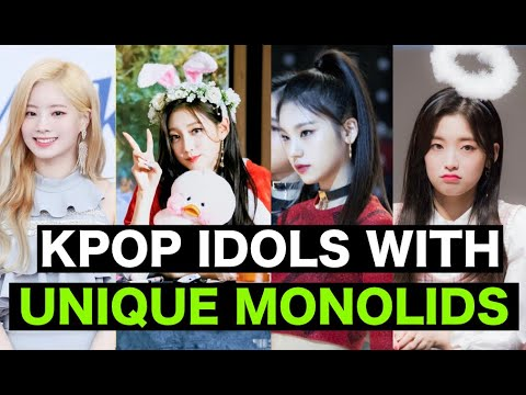 Kpop Idols With Unique Monolids | Aegyo, Cat Eye, Traditional Eye Shapes