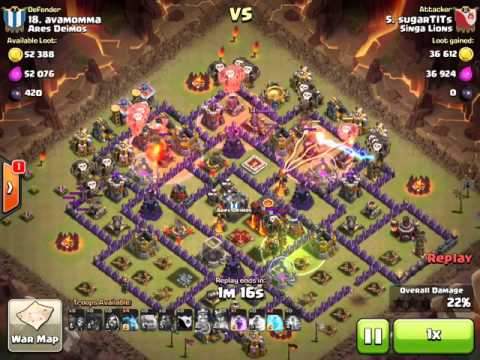 sugarTITs TH10 golavaloon vs Ares Deimos