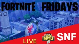 Fortnite Fridays: Fortnite: Battle Royale On Nintendo Switch! Can We Get A Victory Royale? | SNF
