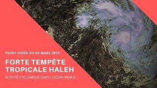 Forte tempête HALEH : Point video du 03/03/2019