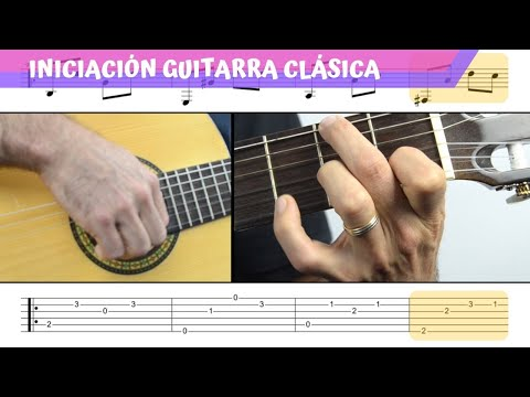 ALLEGRETO (Diabelli) | Pieza INICIACION A Guitarra Clásica | TUTORIAL + PDF