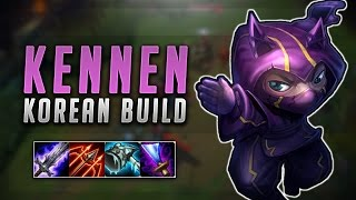 NEW KOREAN KENNEN BUILD! ON-HIT KENNEN OP! - Troll Builds That Work #12