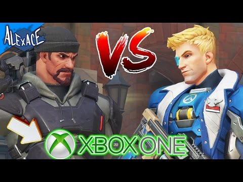 XBOX ONE OVERWATCH VS BLACKWATCH? (FINALLY CONSOLE!) l CUSTOM GAMEMODE!