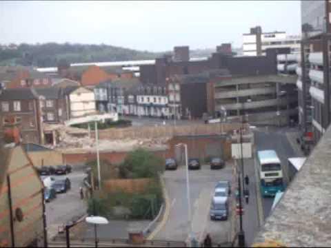Ok, it's Luton now... Matt's tour of Luton town centre lifts