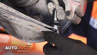 VW LUPO Csapágyazás, kerékcsapágy ház beszerelése: videó útmutató