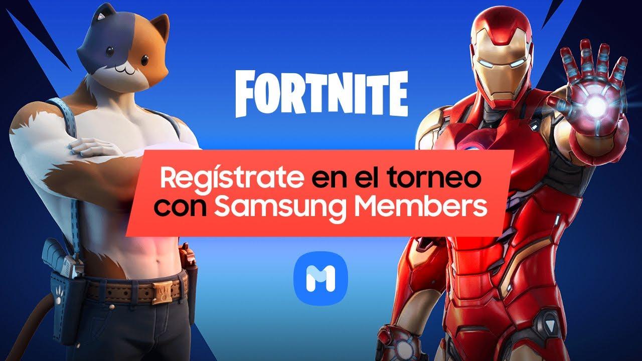 Samsung   Samsung Members   Fortnite   ¡Regístrate en nuestro torneo!
