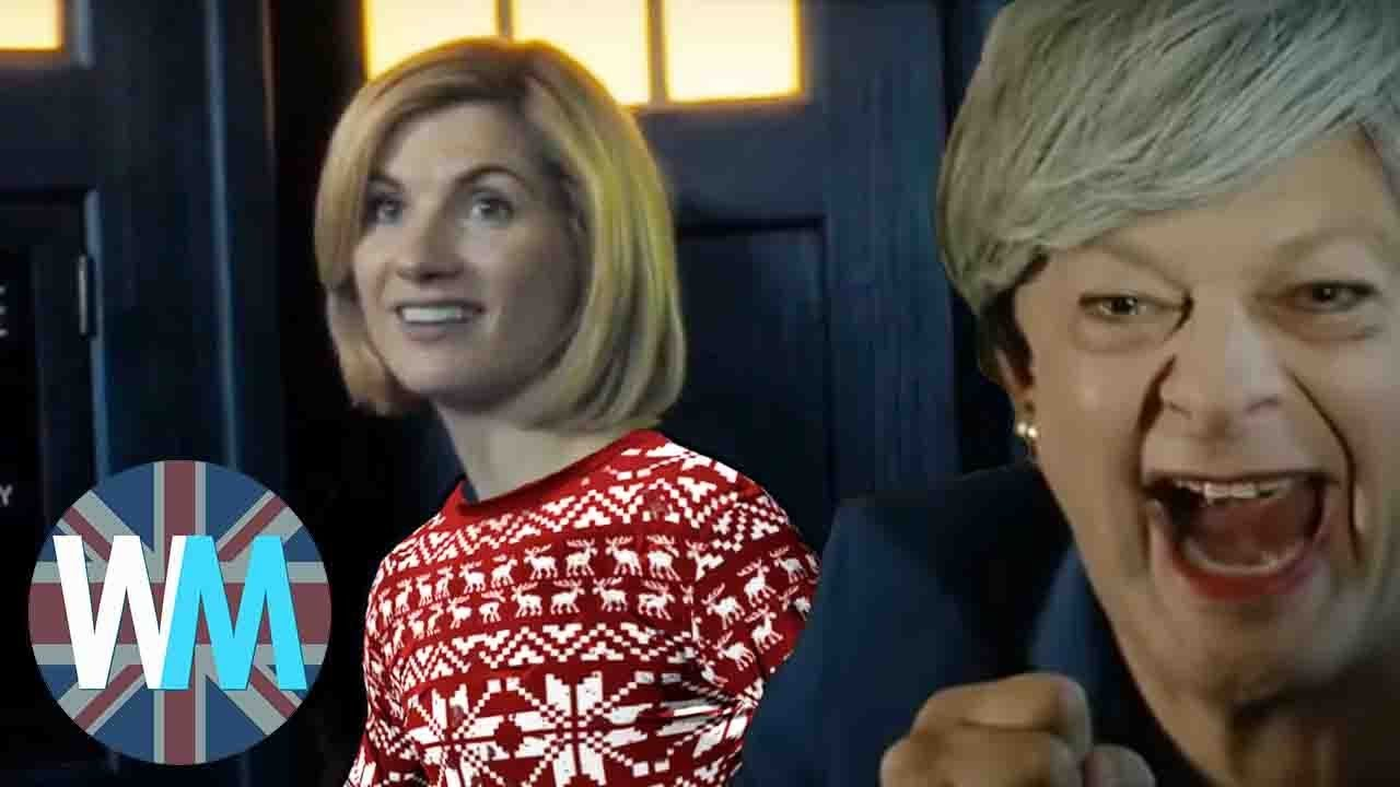 Doctor Who 2020 Christmas Special Doctor Who Returns in 2020, Theresa May Parody and Christmas