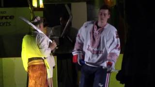 Dauphin Kings Ukrainian Night 2017 Introductions(A great treat for the fans., 2017-01-29T05:41:48.000Z)