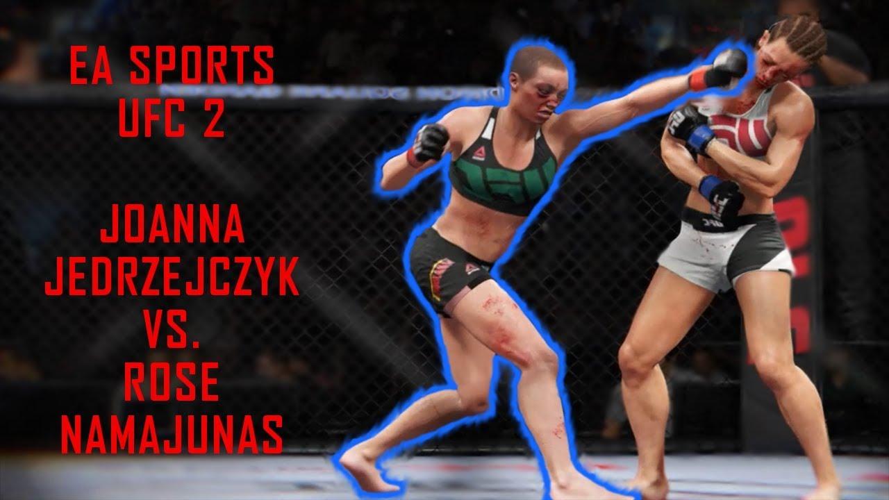 EA UFC 2 - Joanna Jedrzejczyk Vs Rose Namajunas - YouTube