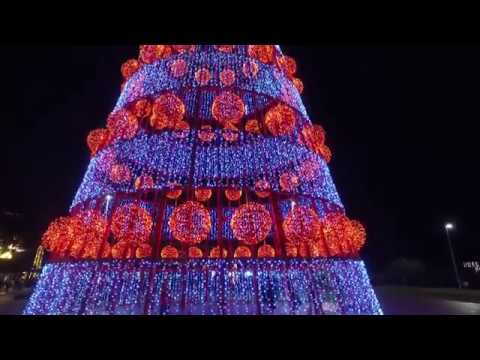 Funchal Weihnachtsbeleuchtung.Funchal Christmas Lights 2018