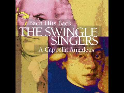 The Swingle Singers - Bach Hits Back - Three-Part Invention