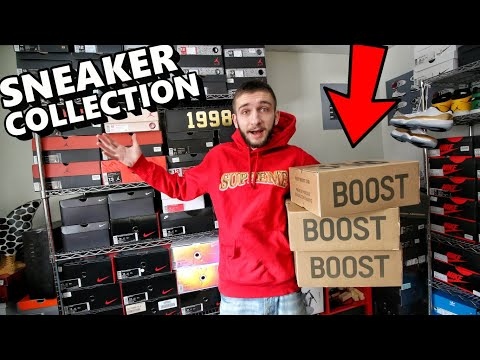 MY ENTIRE SNEAKER COLLECTION 2018 !!! (OVER 350 PAIRS SNEAKERHEAD) part 2!