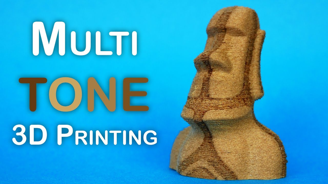 cfee64f484b Multi TONE 3D printing with ANY 3D printer! - YouTube