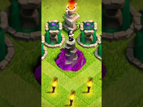 Clash of Clans Wizard Tower | Clash Of Clans | Clash of Clans Max level | Tushar Gaming