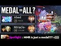 Abed [Puck] Change The way You look about MMR!!! - Dota 2 gameplay Abed vs Miracle mate