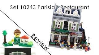 10243 Parisian Restaurant - Lego Modular Building Review (german/deutsch)
