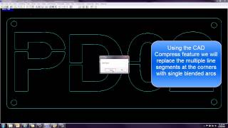 CAD Compress feature in FastCAM