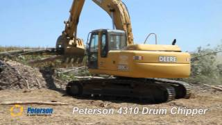 Video still for Peterson 4310 Drum Chipper