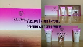 My Versace Bright Crystal Pefume Gift Set Review