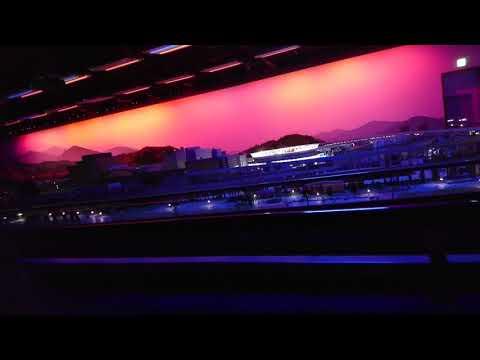 【東京旅行・大宮鉄道博物館】ジオラマ 鉄道の一日上映