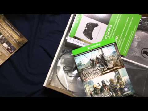 xbox-one-assassin's-creed-unity-bundle-unboxing!