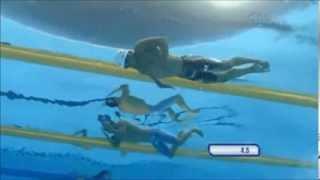Master Yüzme Kurbağa Sualtı Çekiş Çalışmaları