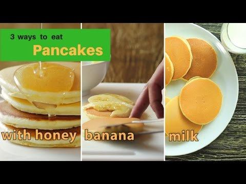 How to Make Easy Pancakes | Fluffy pancake recipe | 3-Ingredient Pancakes You NEED To Try |Yummy