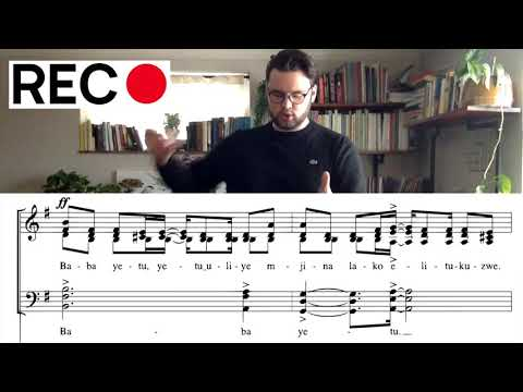 NA Virtual Choir Guide - Baba Yetu