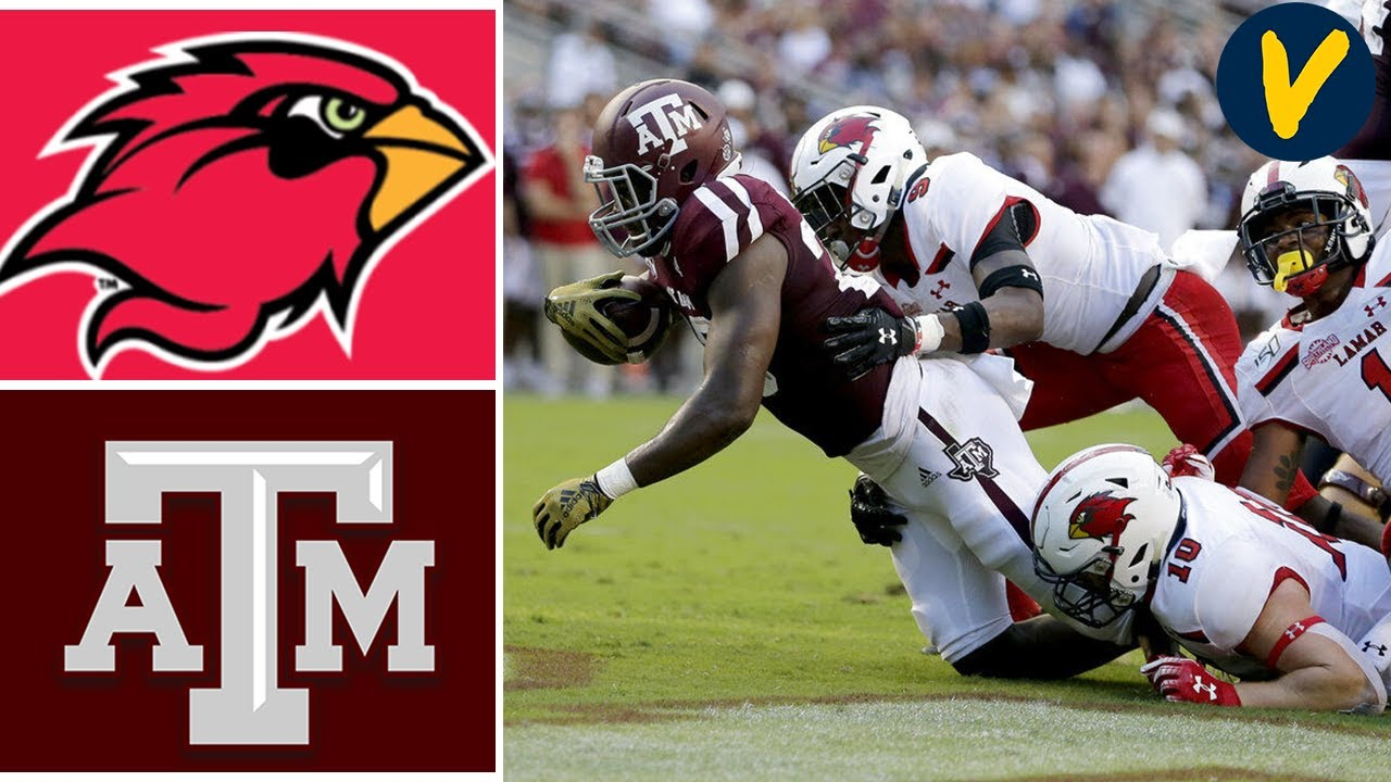 Week 3 2019 Lamar vs #16 Texas A&M College Football Full Game Highlights
