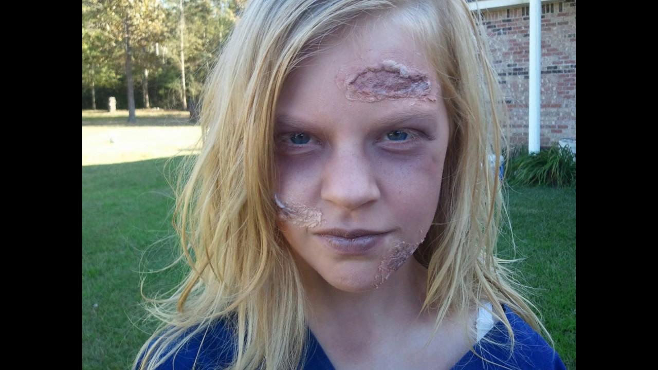 Famoso Trucco Halloween bambini - YouTube AI33