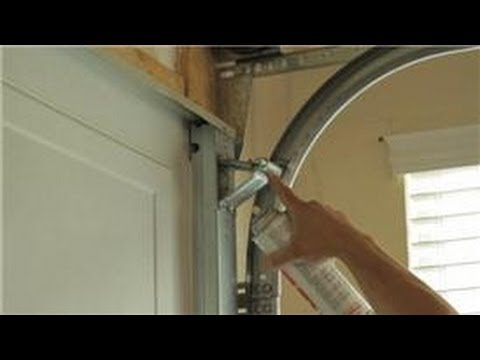 Garage Door Help : How To Quiet A Garage Door   YouTube