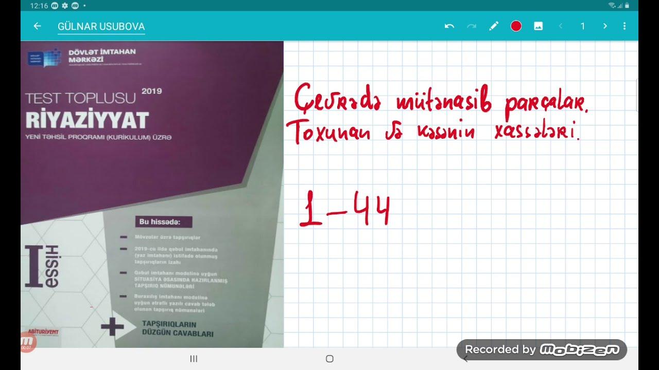Çevrənin daxilinə və xaricinə çəkilmiş üçbucaqlar 1-79