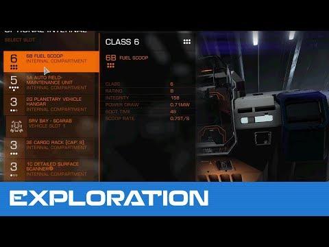 Elite Dangerous - Exploration - Optimizing Exploration Credits Part 1: Ship Loadout