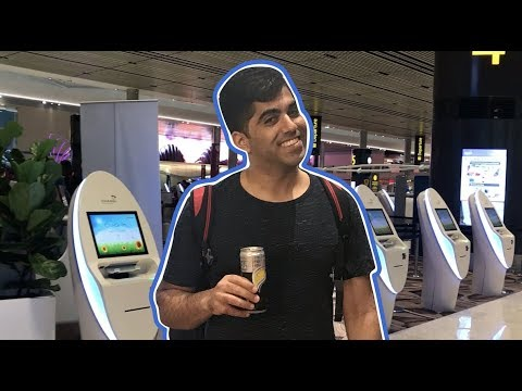 Changi Airport: How to get through Terminal 4 without talking to anyone | CNBC International