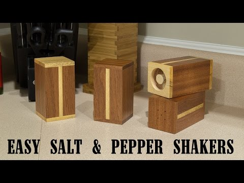 Easy Gift Project: Salt And Pepper Shakers - 215