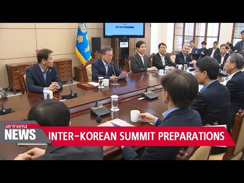 S. Korea launches preparation committee for S. Korea-N. Korea Summit in late April - 동영상