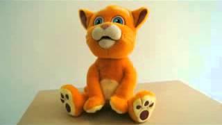 Кіт Кузя інтерактивний, повторюшка М 1373